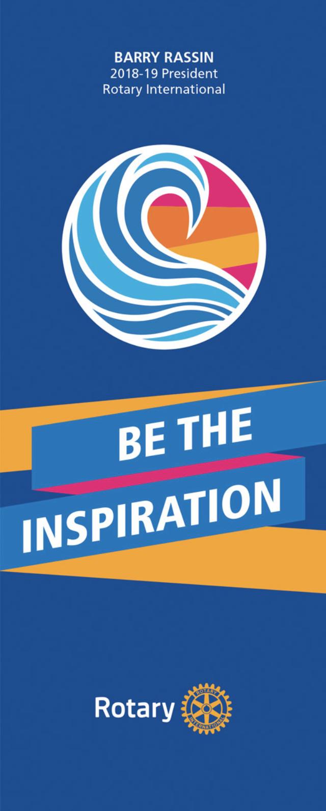 Rotary 2018 / 2019 Motto