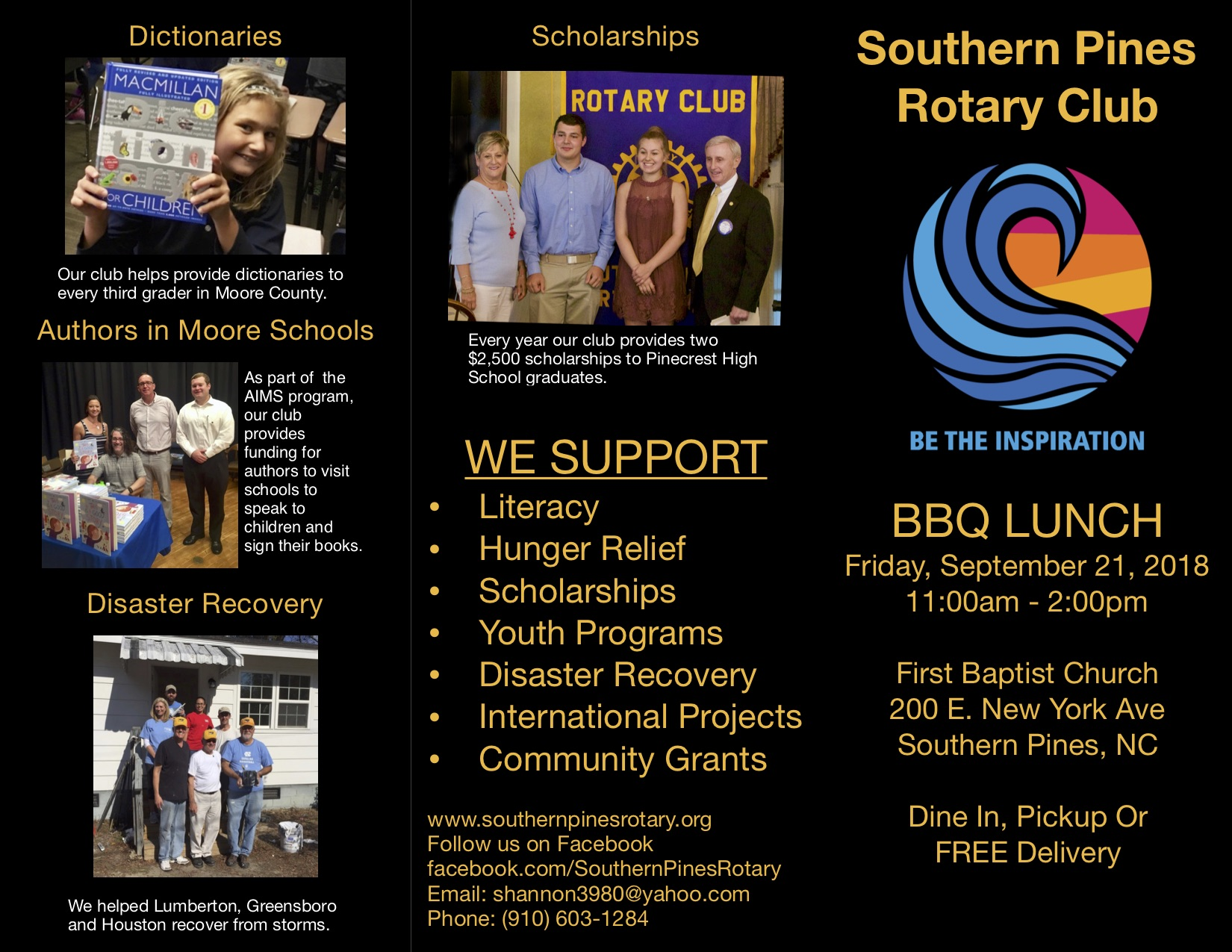Southern Pines Rotary BBQ Event